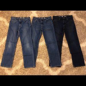 Lot of 3 Boys Urban Pipeline Jeans size 18 Regular